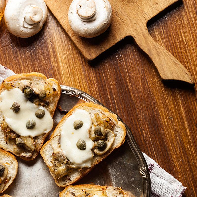 Mushrooms Bites